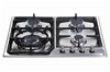 4 BURNER GAS HOB-CHOICE OF COLOURS WITH FLAME FAILURE
